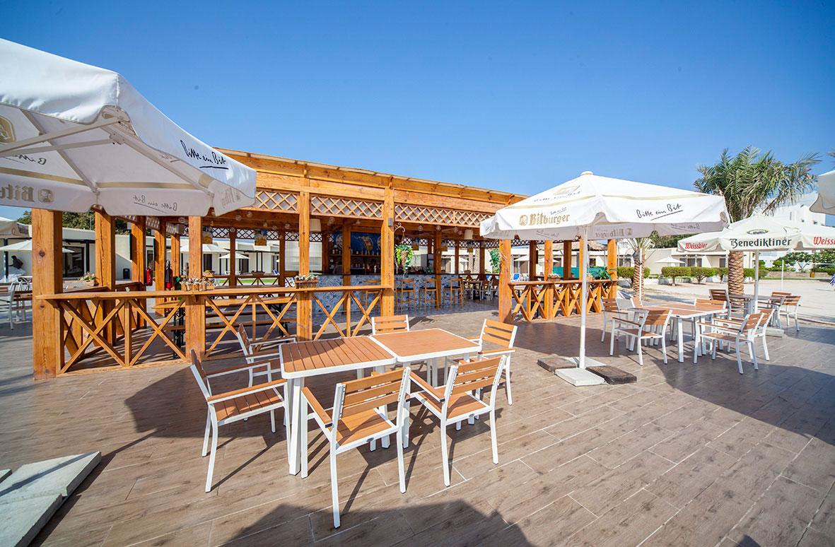Biergarten- Beach Bar